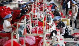 В китайской отрасли производства текстильных изделий зафиксировано падение доходов