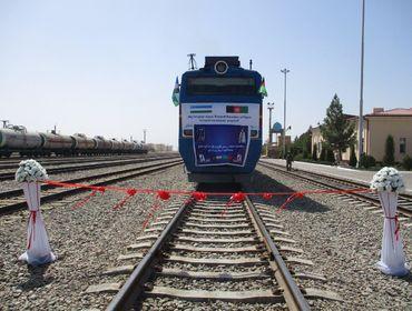 Афганистан запустил через Узбекистан первый контейнерный поезд в Китай
