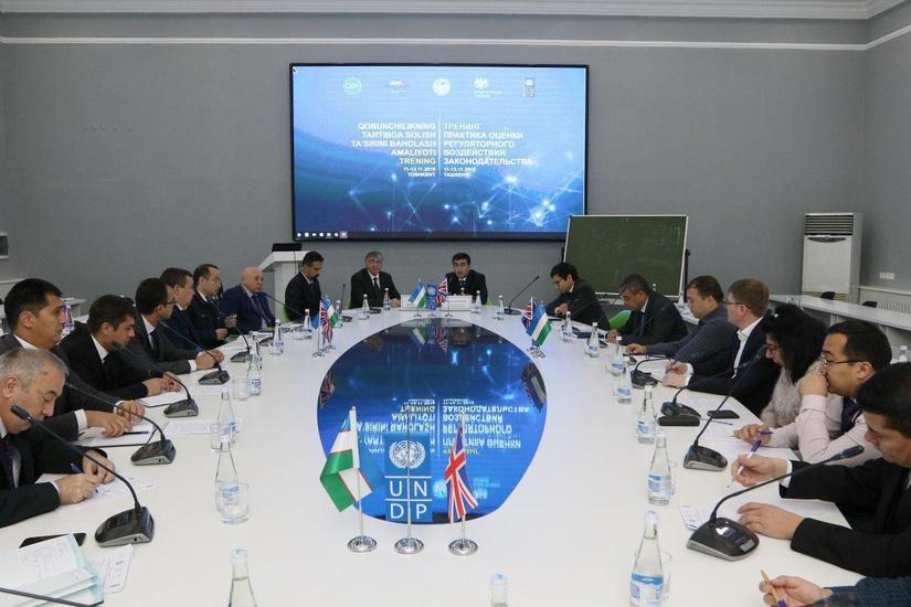 Практику оценки регуляторного воздействия законодательства обсудили в Ташкенте