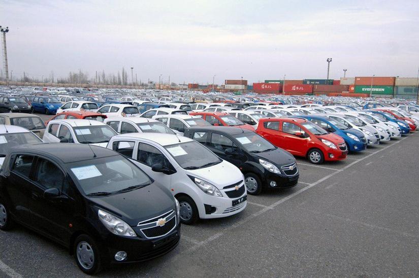 Ўзбекистондан енгил автомобиллар экспорти асосан Қозоғистонга амалга оширилган