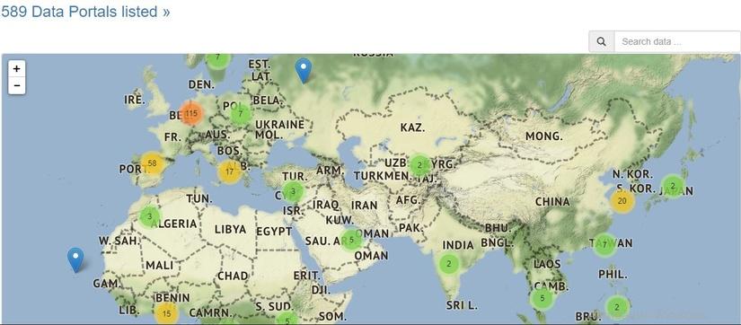 Узбекистан вошел в наиболее полный список порталов открытых данных мира