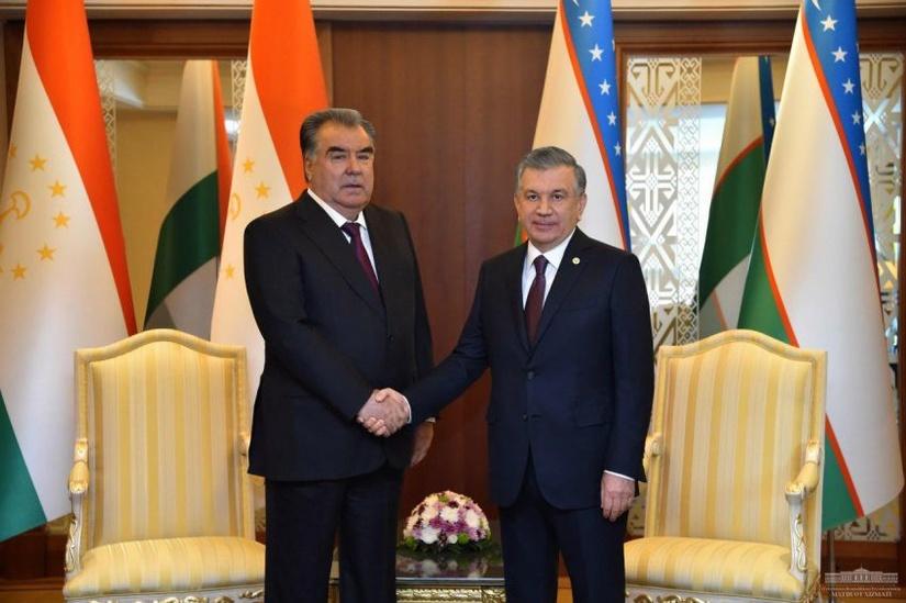 В Ашхабаде Шавкат Мирзиёев встретился с президентом Таджикистана и премьер-министром Армении