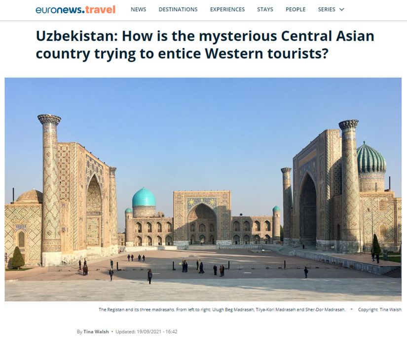 Uzbekistan: How is the mysterious Central Asian country trying to entice Western tourists?
