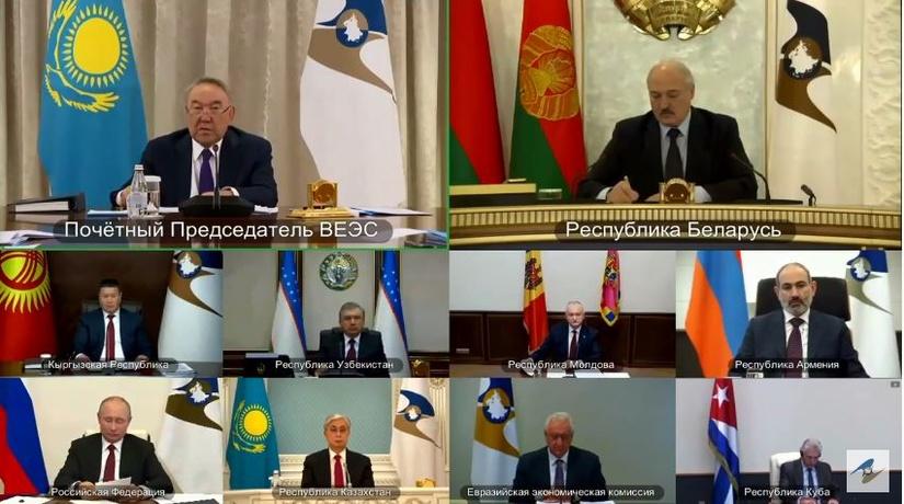 Узбекистан впервые принимает участие в заседании Высшего совета ЕЭАС (+видео)