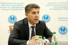Первый заместитель директора ИСМИ Акрамжон Неъматов