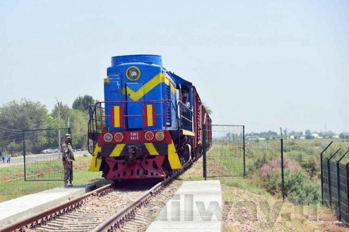 Новый транспортный коридор заработал на границе Узбекистана и Казахстана