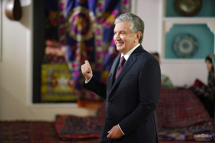 Shavkat Mirziyoyev Toshkent shahri muzeyini borib ko'rdi (foto)