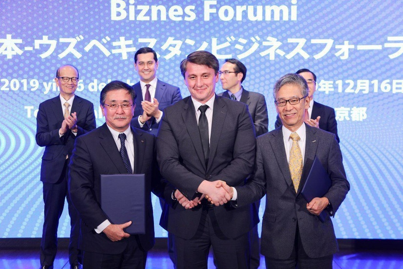 Японские Isuzu Motors и Itochu Corporation инвестируют в автомобилестроение Узбекистана