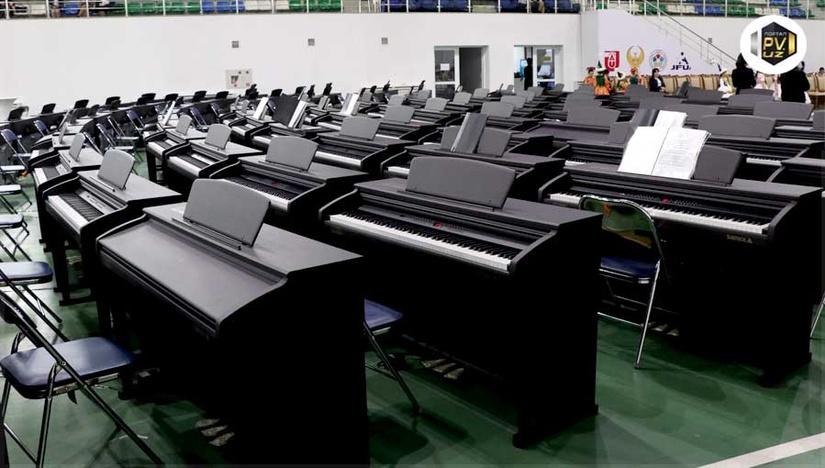 Корейская Booyoung Housing передала узбекским детсадам и школам две тысячи цифровых пианино