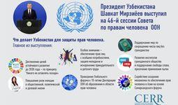 Инфографика: Что делает Узбекистан для защиты прав человека