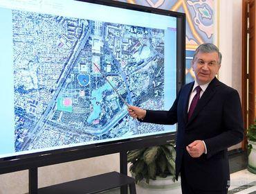 Старый город Ташкента превратится в зону туризма и шопинга в историческом антураже