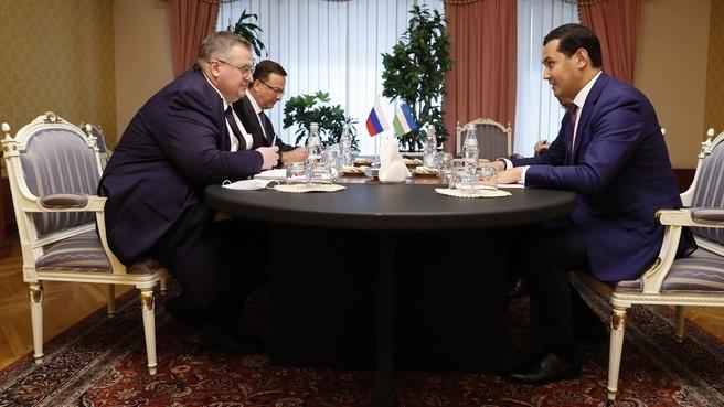 Зампредседателя правительства РФ Алексей Оверчук: в январе – июне 2020 года товарооборот России и Узбекистана составил $2,7 млрд