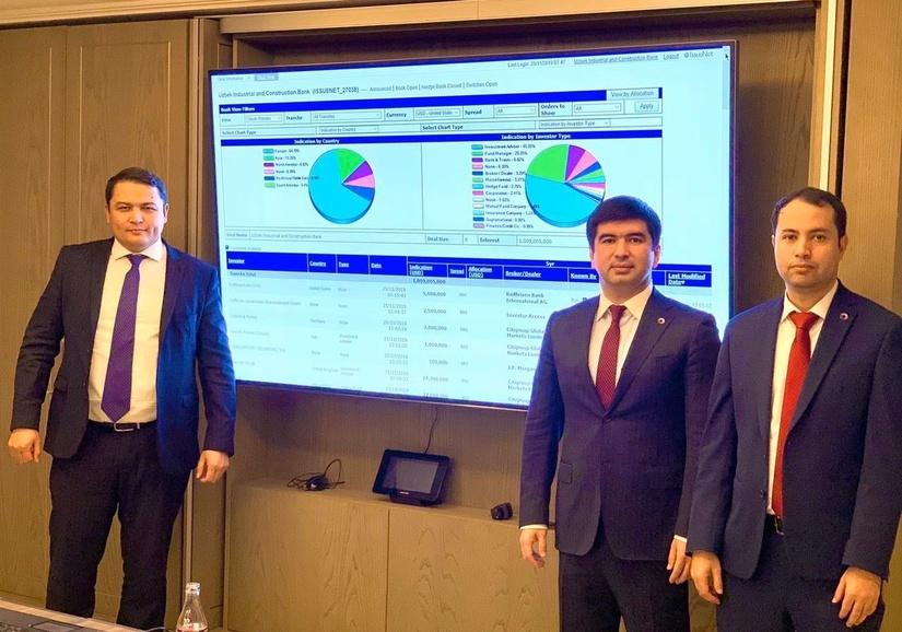 Впервые компания из Узбекистана выпустила евробонды
