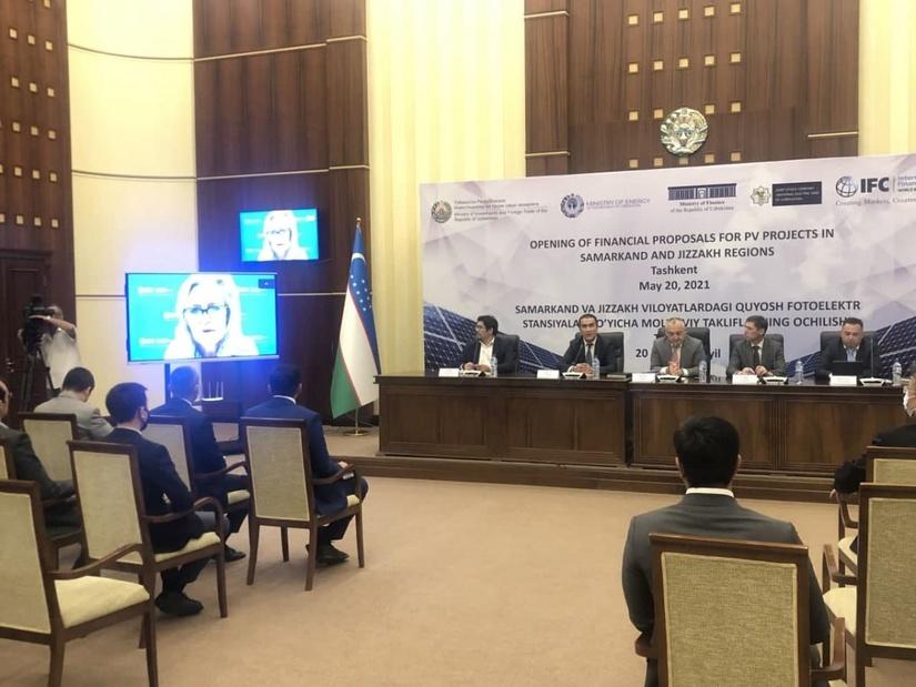 Masdar выиграла два тендера на строительство фотоэлектростанций в Узбекистане