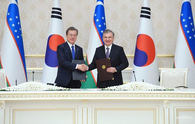 Узбекистан и Южная Корея стали особыми стратегическими партнерами