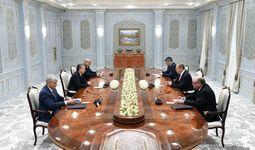 Президент Шавкат Мирзиёев принял и. о. министра иностранных дел России Сергея Лаврова