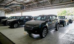 GM Thailand отправила партию автомобилей Chevrolet Trailblazer в Узбекистан