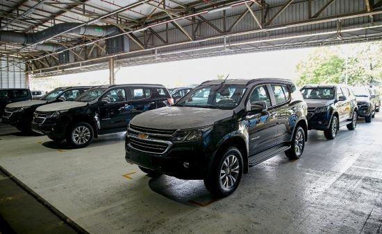 GMнинг Таиланддаги заводи Ўзбекистонга Chevrolet Trailblazer автомобилларини юборди