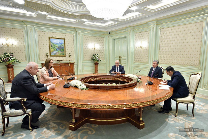Шавкат Мирзиёев ЕХҲТ Парламент ассамблеяси раисини қабул қилди