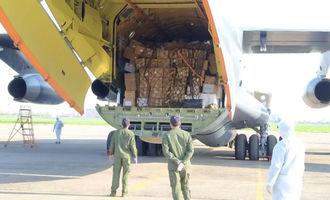 Китайские оборонные компании направили в Узбекистан 20 тонн медикаментов