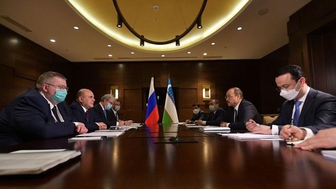 Премьер-министр Узбекистана рассказал как продвигается налоговая реформа в стране, запущенная при содействии РФ