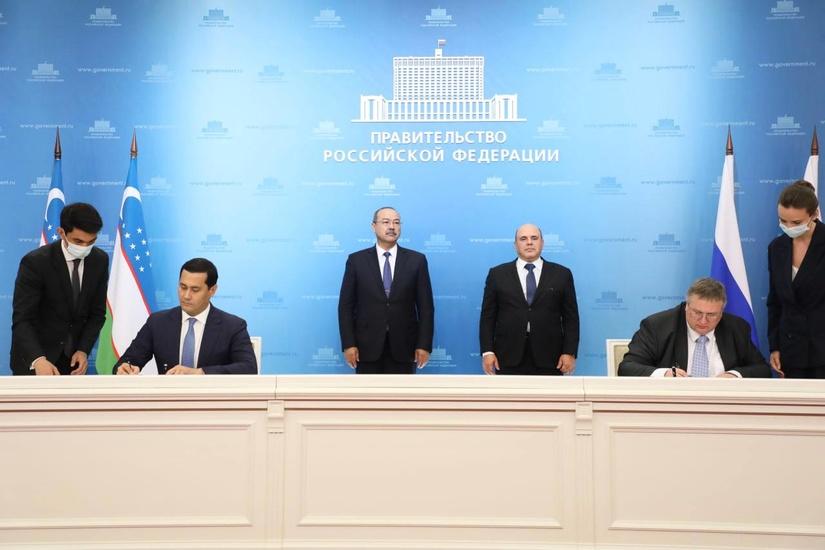 Узбекистан и Россия подписали более 10 документов о сотрудничестве (+фото)
