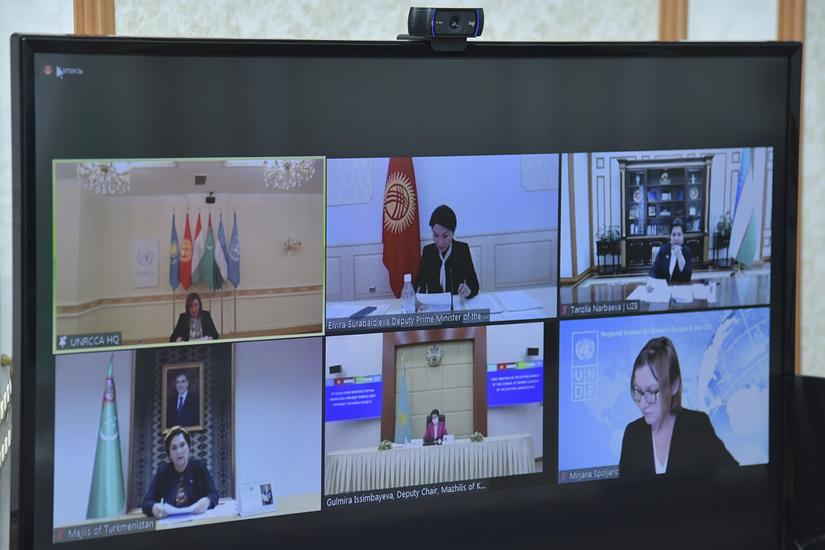 Состоялся первый Диалог женщин-лидеров стран Центральной Азии