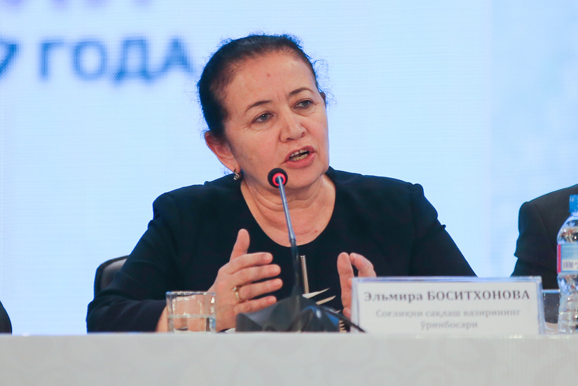 Elmira Bositxonova: Bugungacha 208 nafar homilador ayollarimizda koronavirus aniqlandi