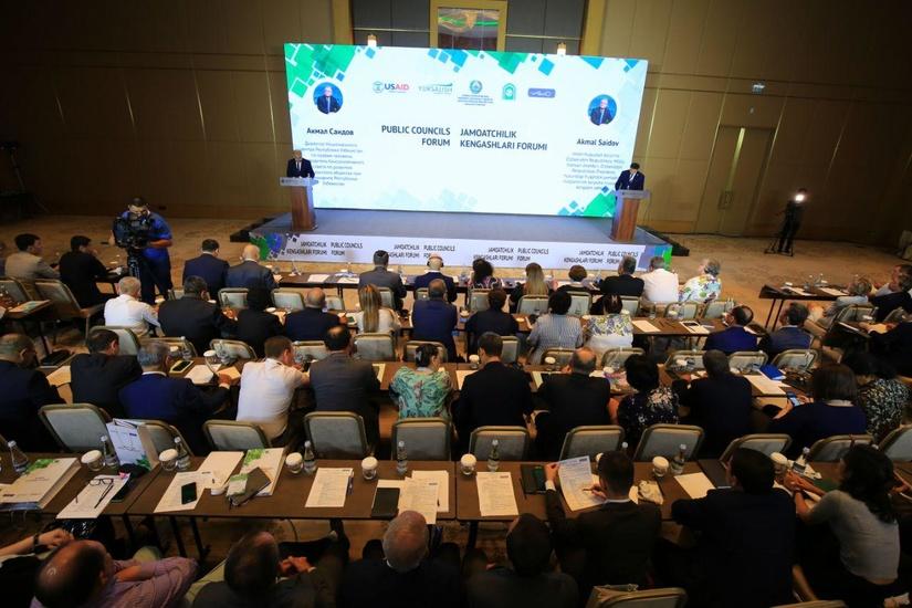 В Ташкенте впервые состоялся Форум общественных советов при госорганах