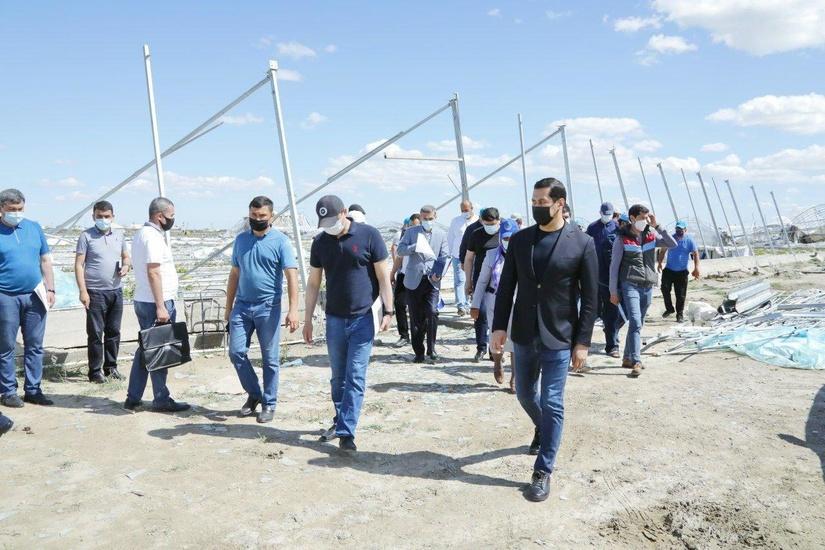 Пострадавшим от урагана предпринимателям оказали поддержку