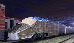 Ўзбекистонга Испаниядан «Афросиёб» поезди олиб келинди